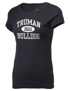 Truman High School Bulldog Holloway Women's Groove T-Shirt