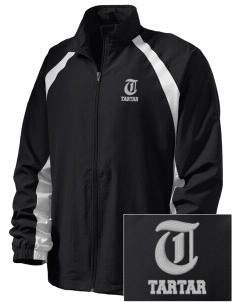 compton jc tartar  Embroidered Men's Full Zip Warm Up Jacket