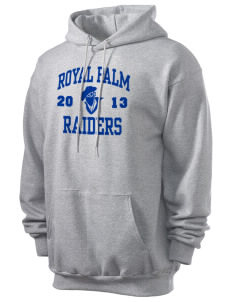 Royal Palm Junior High School Raiders Men's 7.8 oz Lightweight Hooded Sweatshirt