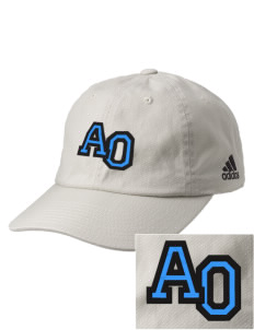 Alpha Omega Academy We don't have one.  We have a logo Embroidered adidas Relaxed Cresting Cap