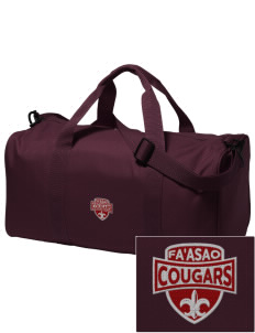 fa'asao high cougars Embroidered Holloway Duffel Bag