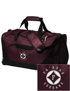 fa'asao high cougars Embroidered Holloway Chill Medium Duffel Bag