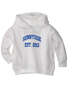 Sunnyside High School Blue Devils  Toddler Fleece Hooded Sweatshirt with Pockets