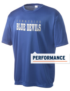 Sunnyside High School Blue Devils Men's Competitor Performance T-Shirt