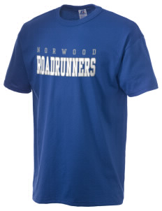 Norwood Elementary School Roadrunners  Russell Men's NuBlend T-Shirt