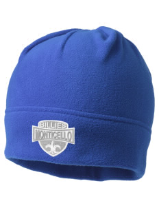 Monticello High School Billies Embroidered Fleece Beanie