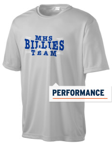 Monticello High School Billies Men's Competitor Performance T-Shirt