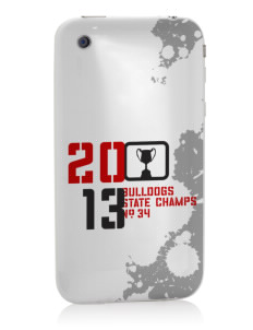 Horace Mann Elementary School Bulldogs Apple iPhone 3G/ 3GS Skin