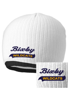 Bixby Elementary School Wildcats Embroidered Champion Striped Knit Beanie