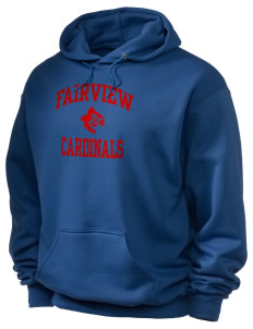 Fairview Middle School Cardinals Holloway Men's 50/50 Hooded Sweatshirt