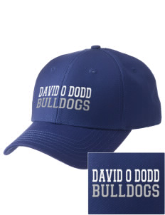 David O Dodd Elementary School Bulldogs  Embroidered New Era Adjustable Structured Cap