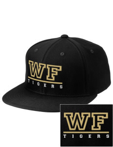 West Fork High School Tigers Embroidered Diamond Series Fitted Cap