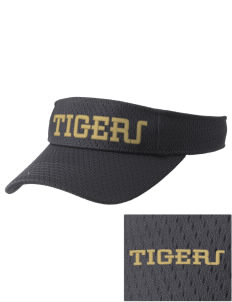West Fork High School Tigers Embroidered Woven Cotton Visor