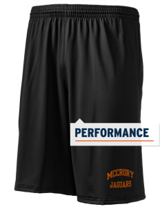 "McCrory High School Jaguars Holloway Men's Performance Shorts, 9"" Inseam"