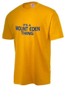 Mount Eden High School Monarchs  Russell Men's NuBlend T-Shirt