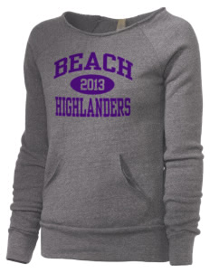 Beach Elementary School Highlanders Alternative Women's Maniac Sweatshirt