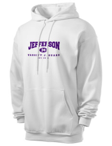 Jefferson Elementary School Jaguars Men's 7.8 oz Lightweight Hooded Sweatshirt