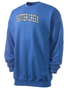 Sutter Creek Elementary School Wolverines Men's 7.8 oz Lightweight Crewneck Sweatshirt