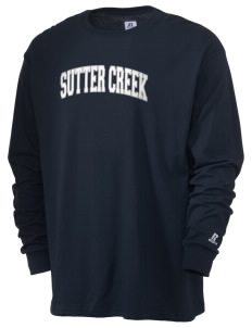 Sutter Creek Elementary School Wolverines  Russell Men's Long Sleeve T-Shirt