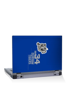 "Durham Elementary School Tigers 14"" Laptop Skin"