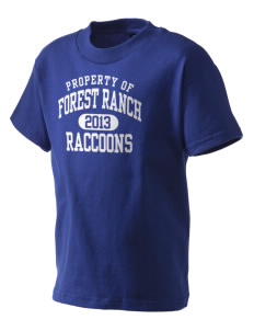 Forest Ranch Elementary School Raccoons Kid's T-Shirt