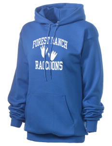 Forest Ranch Elementary School Raccoons Unisex 7.8 oz Lightweight Hooded Sweatshirt