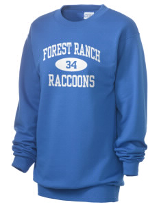 Forest Ranch Elementary School Raccoons Unisex 7.8 oz Lightweight Crewneck Sweatshirt