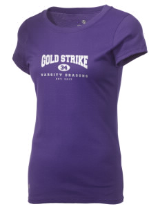 Gold Strike High School Dragons Holloway Women's Groove T-Shirt