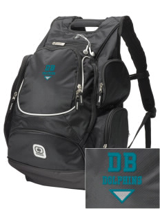 Discovery Bay Elementary School Dolphins  Embroidered OGIO Bounty Hunter Backpack