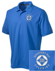 Discovery Bay Elementary School Dolphins Embroidered OGIO Men's Caliber Polo