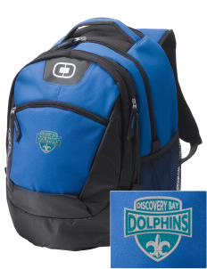 Discovery Bay Elementary School Dolphins Embroidered OGIO Rogue Backpack
