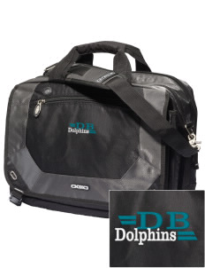 Discovery Bay Elementary School Dolphins Embroidered OGIO Corporate City Corp Messenger Bag