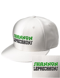 Shannon Elementary School Leprechauns  Embroidered New Era Flat Bill Snapback Cap