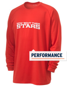 Stege Elementary School Stars Men's Ultimate Performance Long Sleeve T-Shirt