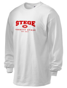 Stege Elementary School Stars 6.1 oz Ultra Cotton Long-Sleeve T-Shirt