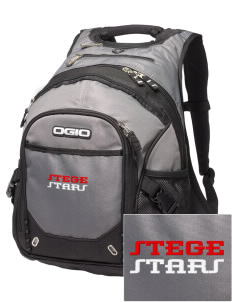 Stege Elementary School Stars Embroidered OGIO Fugitive Backpack