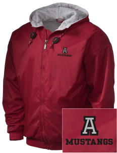 Alamo Elementary School Mustangs Embroidered Holloway Men's Hooded Jacket