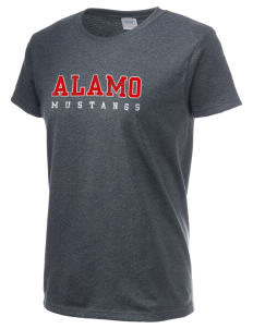 Alamo Elementary School Mustangs Women's 6.1 oz Ultra Cotton T-Shirt