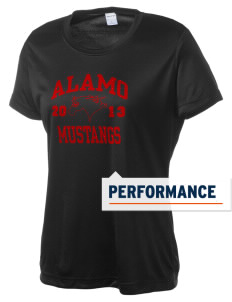Alamo Elementary School Mustangs Women's Competitor Performance T-Shirt