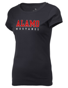 Alamo Elementary School Mustangs Holloway Women's Groove T-Shirt