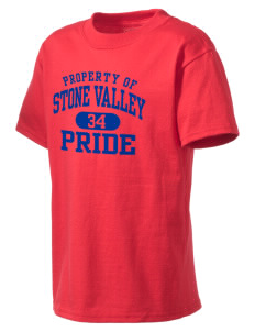 Stone Valley Middle School Pride Kid's Lightweight T-Shirt