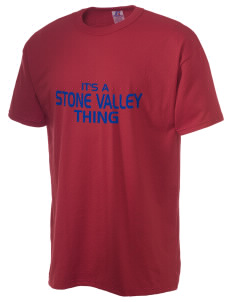 Stone Valley Middle School Pride  Russell Men's NuBlend T-Shirt