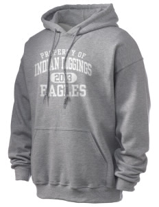 Indian Diggings Elementary School Eagles Ultra Blend 50/50 Hooded Sweatshirt