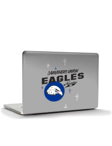 "Caruthers Union Elementary School Eagles Apple MacBook Pro 17"" & PowerBook 17"" Skin"
