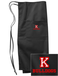 Kratt Elementary School Bulldogs Embroidered Full Bistro Bib Apron