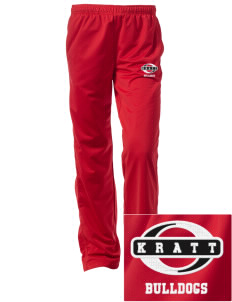 Kratt Elementary School Bulldogs Embroidered Women's Tricot Track Pants