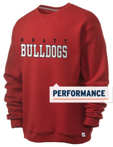 Kratt Elementary School Bulldogs  Russell Men's Dri-Power Crewneck Sweatshirt