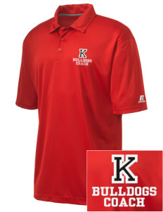 Kratt Elementary School Bulldogs Embroidered Russell Coaches Core Polo Shirt