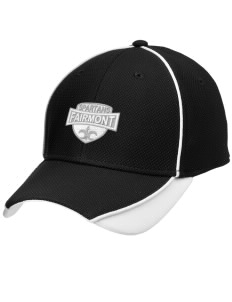 Fairmont Elementary School Spartans Embroidered New Era Contrast Piped Performance Cap
