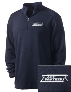 Lake Elementary School Panthers Embroidered Nike Men's Golf Heather Cover Up